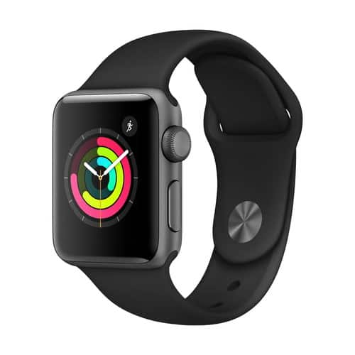 Apple Watch Series 3 GPS - 38mm - Sport Band - Aluminum Case $169