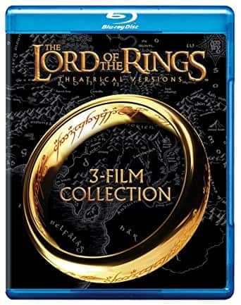 The Lord of the Rings: Theatrical Trilogy (Blu-ray) $10.99