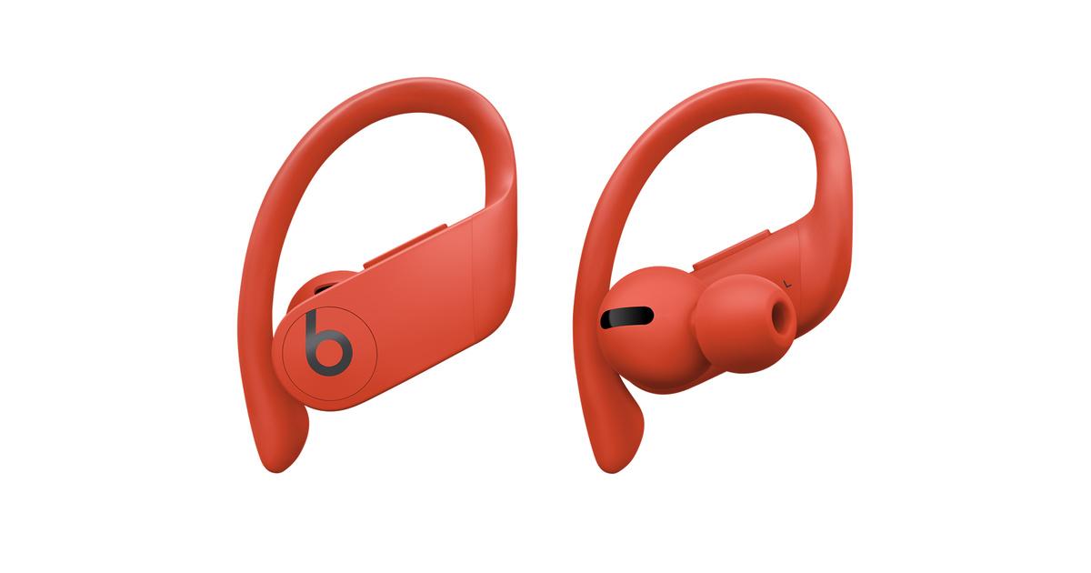 Powerbeats Pro - Totally Wireless Earphones - Lava Red - Apple $169.95