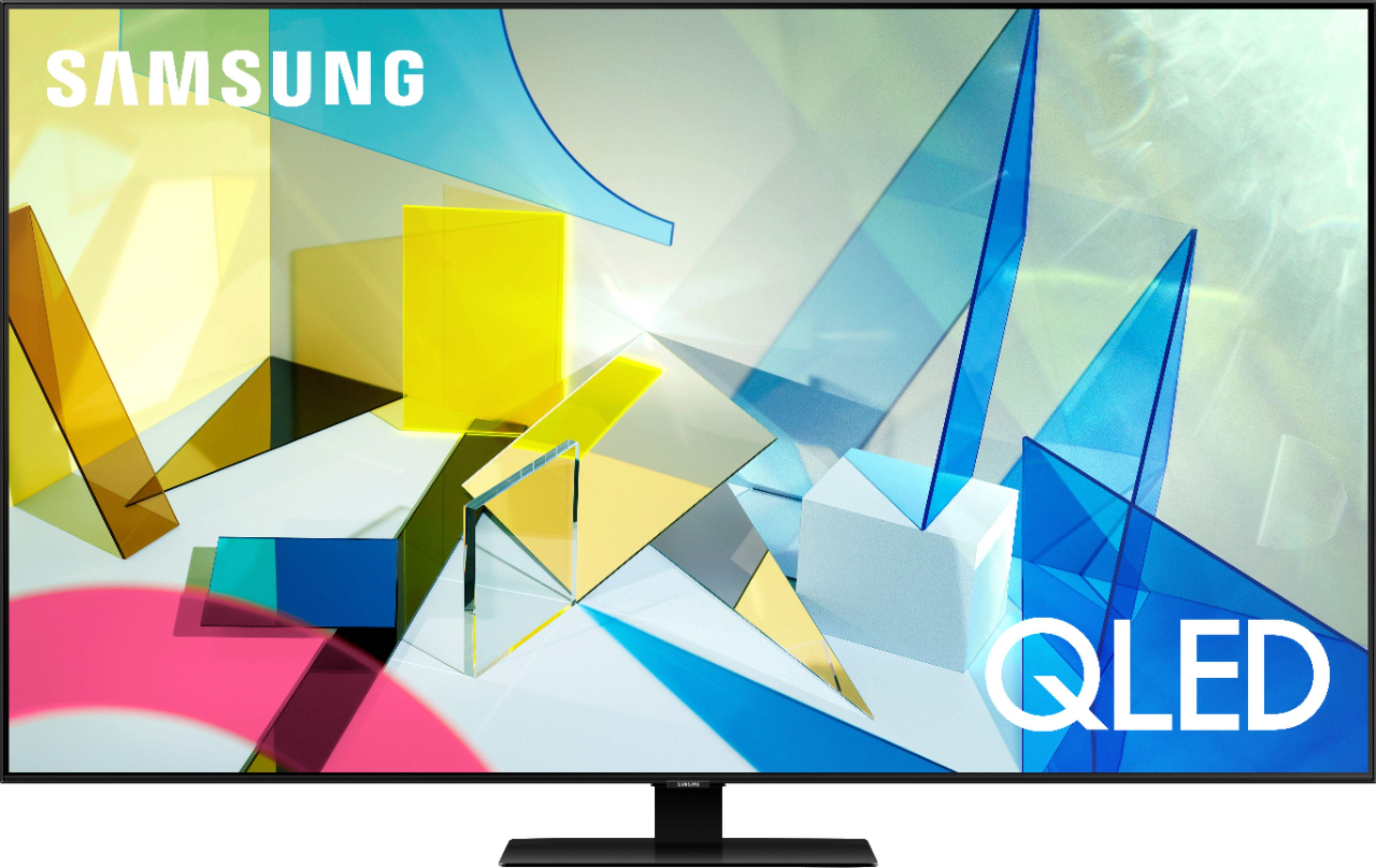 "Samsung 75"" Class Q80T Series QLED 4K UHD Smart Tizen TV QN75Q80TAFXZA - Best Buy $2099.00"