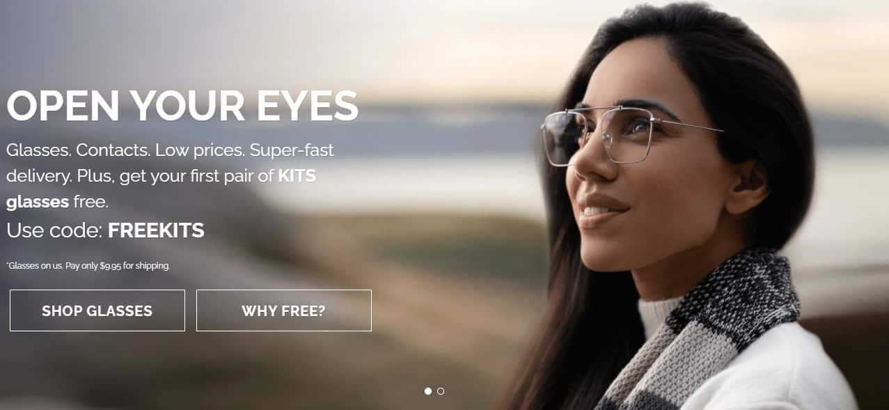 KITS.com - Use code FREEKITS for First Pair Free (Select prescriptions only) + Shipping $9.95 YMMV