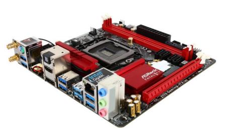 ASRock ASRock Fatal1ty Gaming Z170 Gaming-ITX/ac LGA 1151 Intel Z170 Mini ITX Intel Motherboard $130 AC/AR