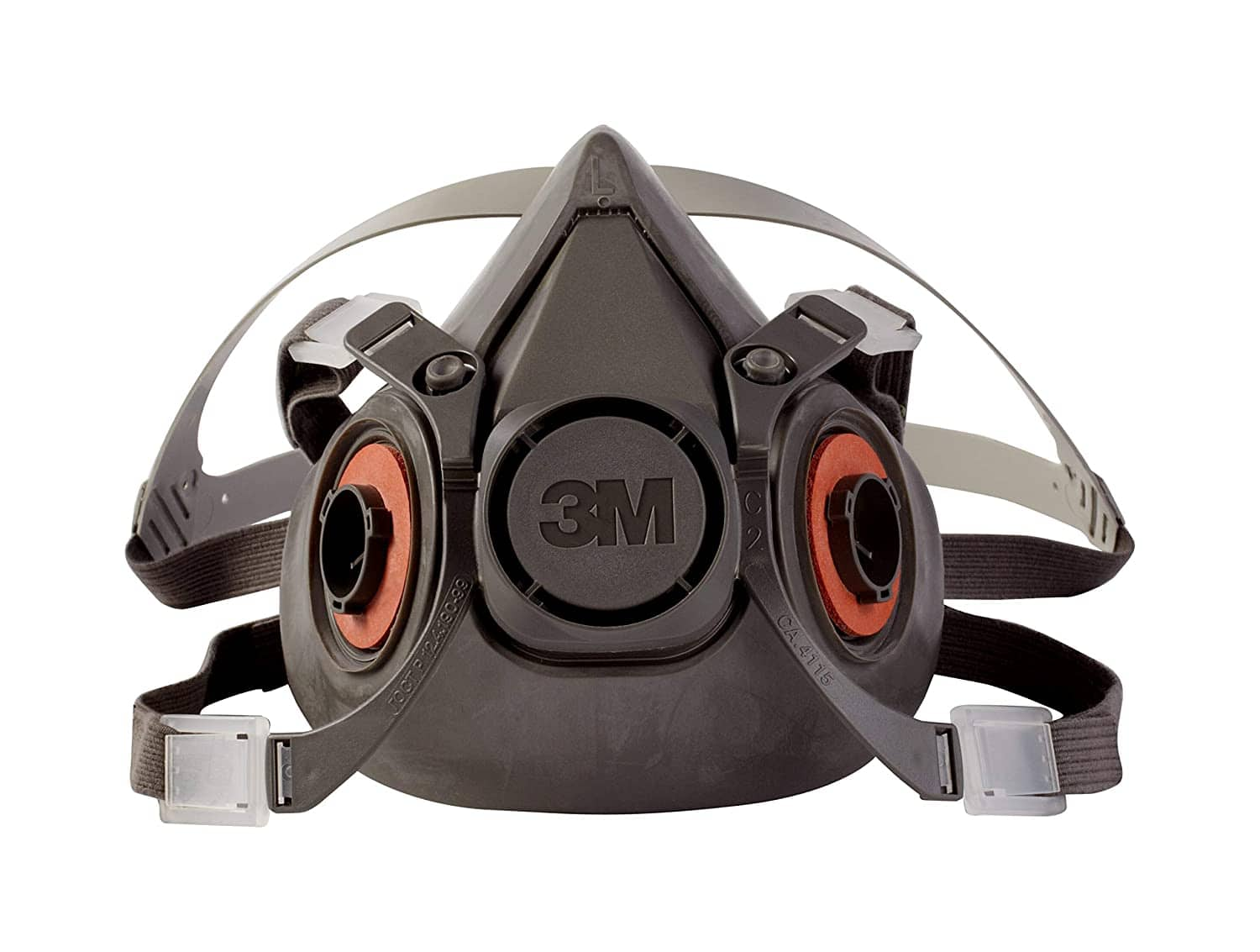 3M Half Facepiece Reusable Respirator 6300/07026(AAD), Respiratory Protection, Large (Pack of 1) $13.14