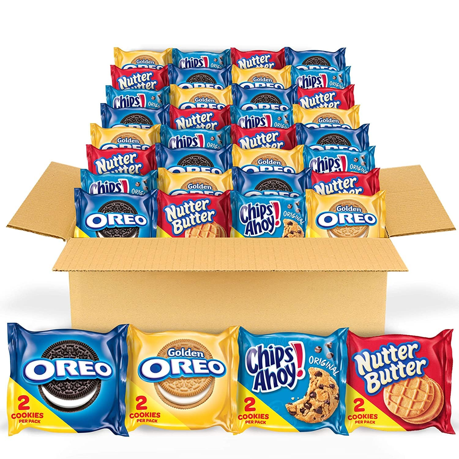 56-Pack Nabisco Cookie Snack Packs $12.44 w/s&s at Amazon