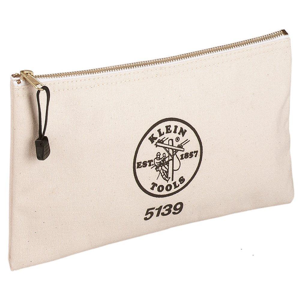 Klein Tools Canvas Zipper Bag $8.97 at Amazon