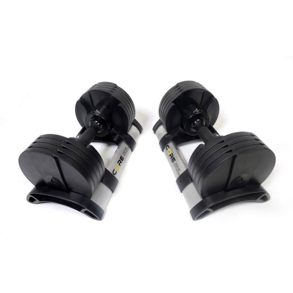 Core home fitness adjustable dumbbells back in stock $374.98
