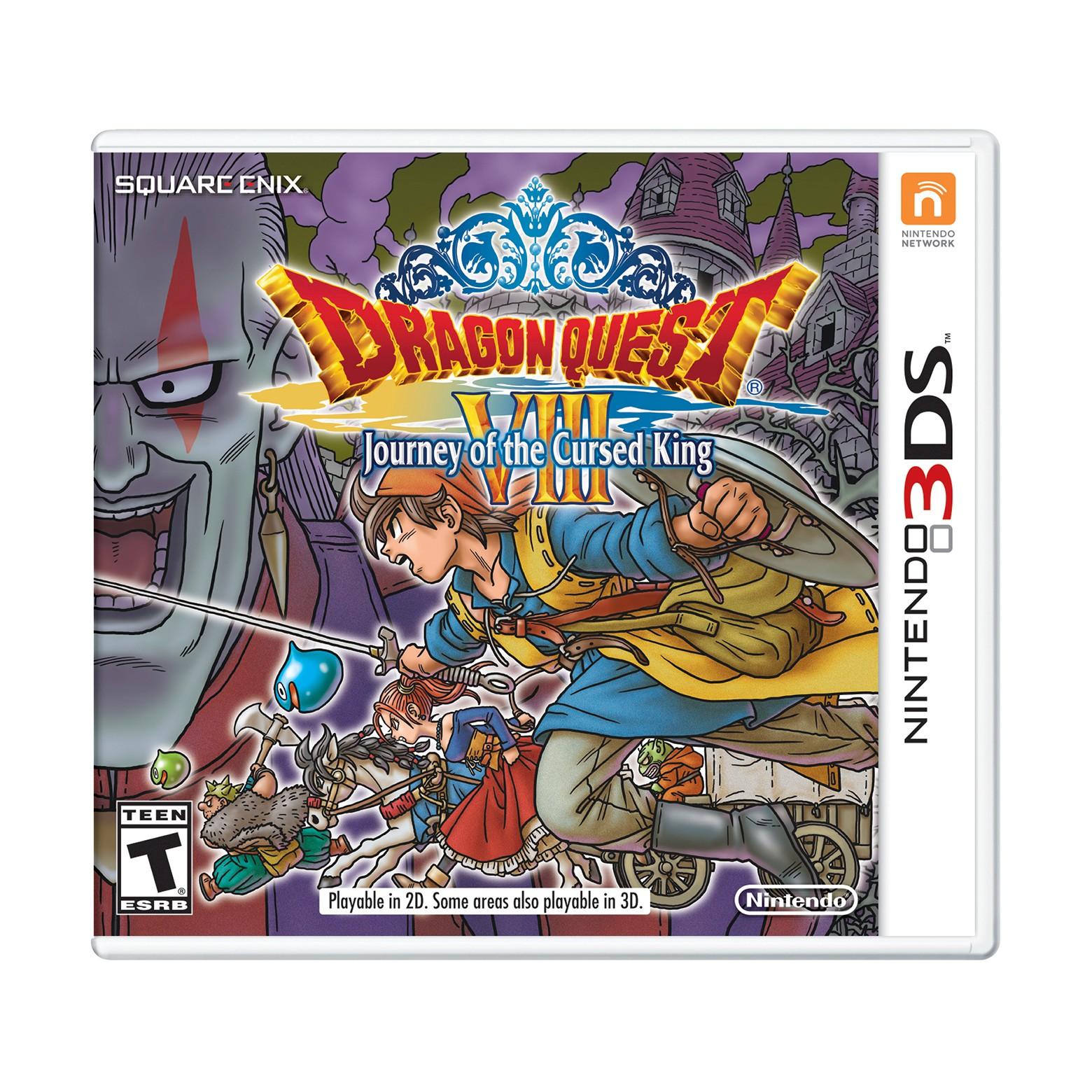 Target B&M Clearance: Nintendo 3DS Dragon Quest VIII  $12