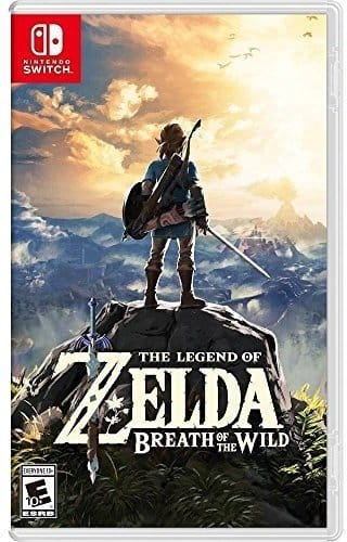 The Legend of Zelda: Breath of the Wild for Nintendo Switch [Physical, Non-Digital] $49.94