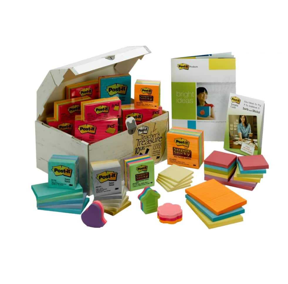 10lb Post it Treasure Chest Of Notes Assorted - $49.99