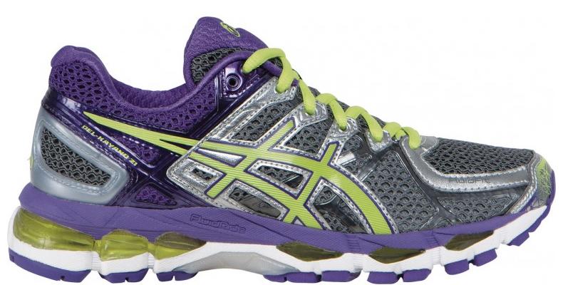 Women Asics Kayano 21 (Purple) for $72 @ jackrabbit.com + free shipping