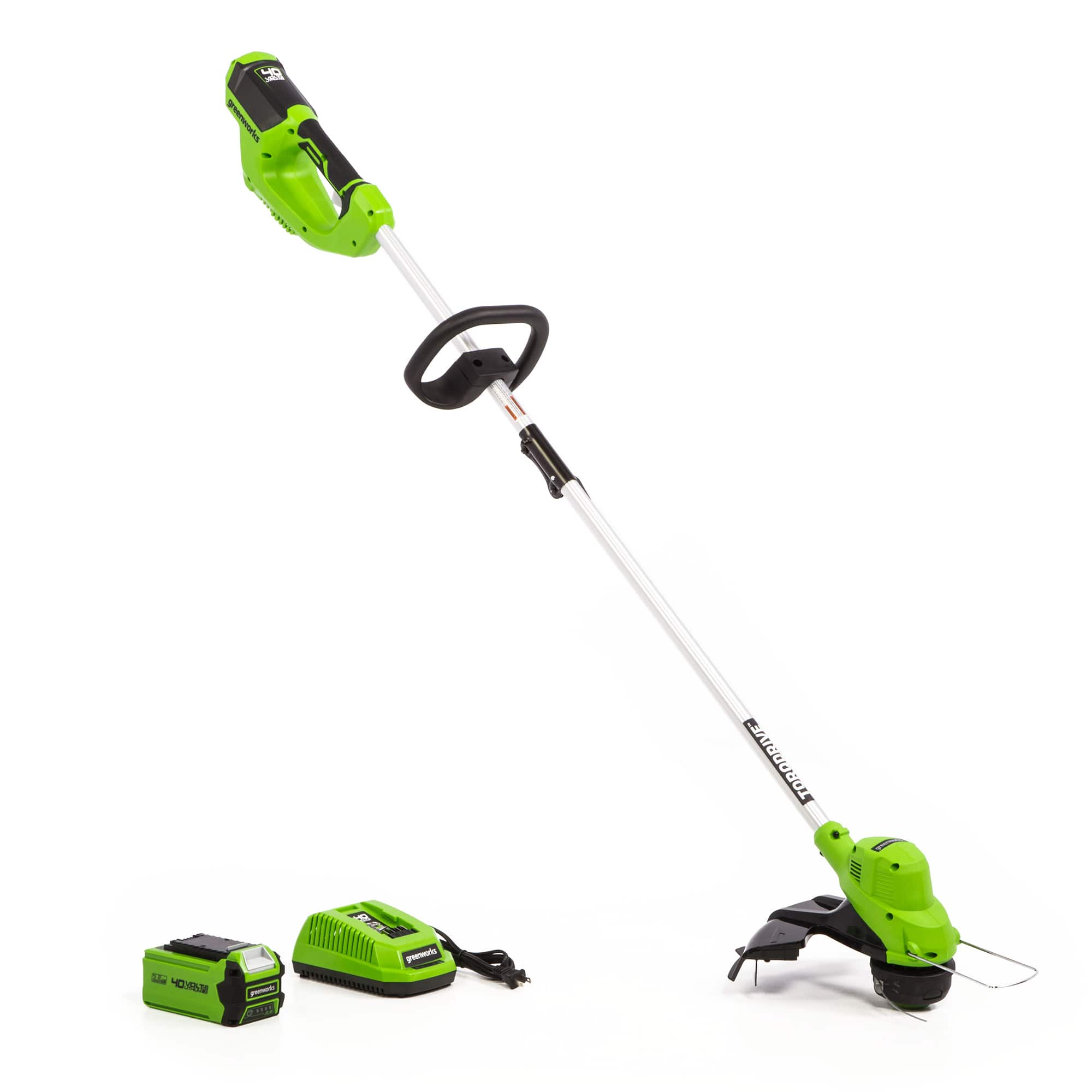 YMMV,  Greenworks 40V 15-Inch Straight Shaft String Trimmer 2.5Ah Battery and Quick Charger Included 2111802 $79.99