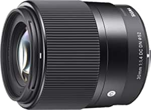 Sigma 30mm F1.4 Contemporary DC DN Lens for Sony E $260