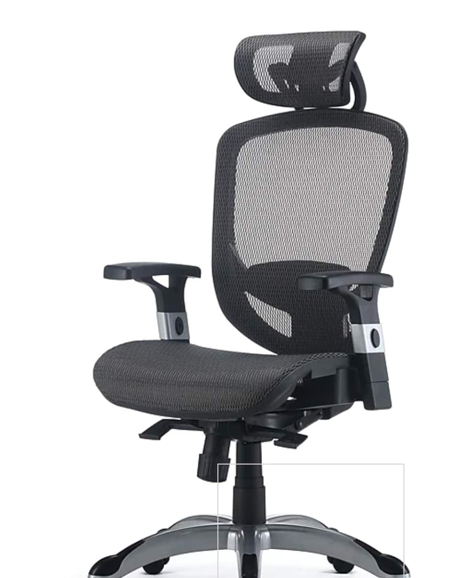FlexFit™ Hyken Mesh Task Chair, Charcoal Gray - $129.99