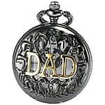CredDeal Stainless Steel Pocket Watch - Father's Day Gift - $7.19 + FS
