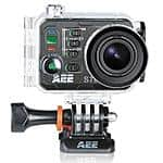 "AEE S70Black 16MP 2"" Action Camera + 32gb Microsdhc - $220"