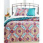 Macys 3-Pc Comforter Set (various styles) $19.99