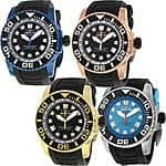 Invicta Pro Diver Black Dial Black Rubber Mens Watch - $59.99 + FS