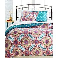 Macy's Deal: Macys 3-Pc Comforter Set (various styles) $19.99