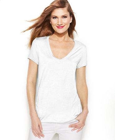 Women's Michael Kors V-Neck T-shirt -  $3.99