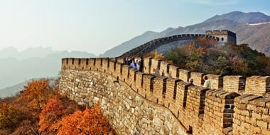 $649 - China 8-Night Tour - Air + Hotel + Guide from LA Dates - Oct 21, Nov 4 or Nov 11
