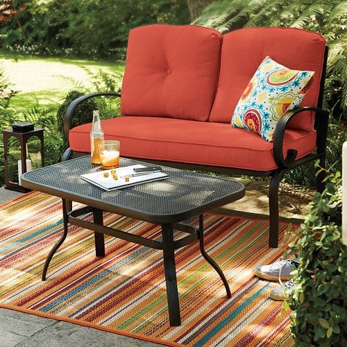 SONOMA Goods for Life Claremont Patio Loveseat & Coffee Table 2-piece Set - $143 + $20 Kohl's Cash for Kohl's Charge