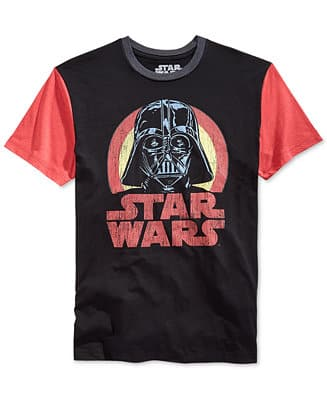 Macys - Men's T-Shirts Starting at $3.74. Star Wars and More. Shipping is Free