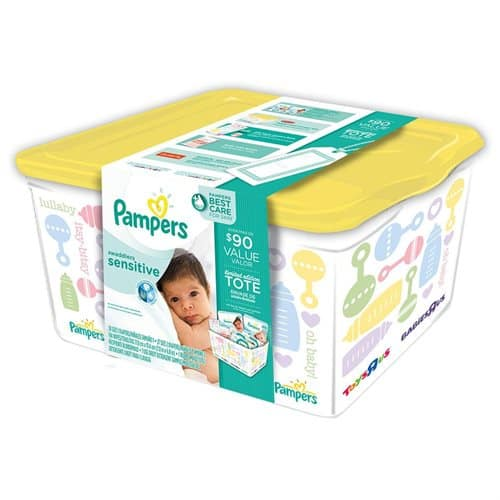 Pampers Swaddlers Sensitive Diaper Registry Tote Starting at $29.99 + Free Shipping