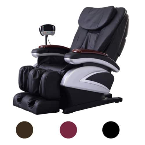 BestMassage BM-EC06C Electric Full Body Shiatsu Massage Chair Recliner with Stretched Foot Rest  - $629.99 + FS