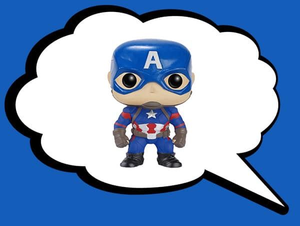 Funko Pop Captain America 3 Civil War Action Figure - $4.5 + Free Shipping