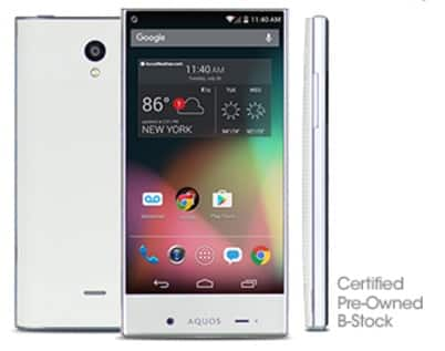 $29.99 - FreedomPop Sharp Aquos Crystal LTE - FreedomPop
