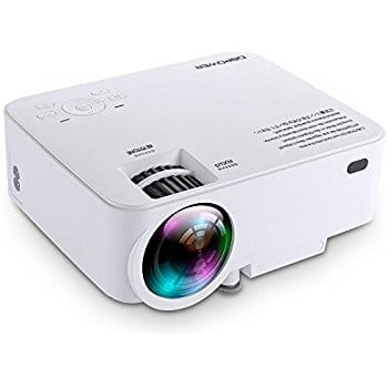 urlhasbeenblocked T20 1500 Lumens LCD Mini Projector Support 1080P HDMI - $69.99