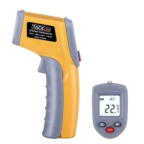 Tacklife T02 Non-Contact Infrared Thermometer Digital Temperature $8.99