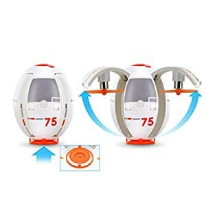 Tenergy TDR Eggsplorer Flying Egg Transformable RC Quadcopter Drone Rolling Stunt 2.4G Auto Hover for $20.99