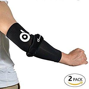 Odoland 2 Pack Cooper Tennis Elbow Brace Sleeves Kit: $7.99 + FS@Amazon