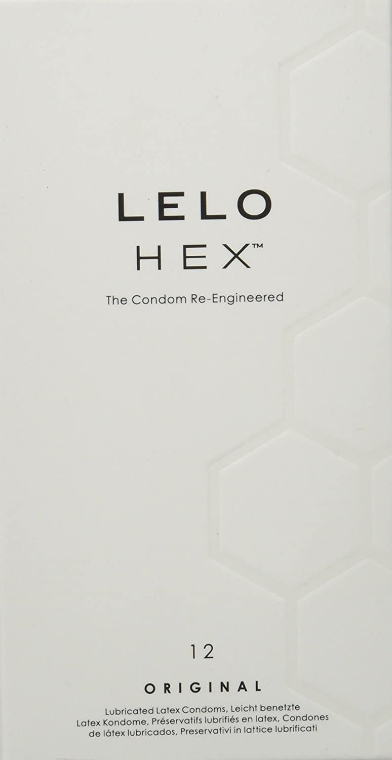 20% Off LELO Hex The Re-Engineered Luxury Condom, 12 Count $15.67