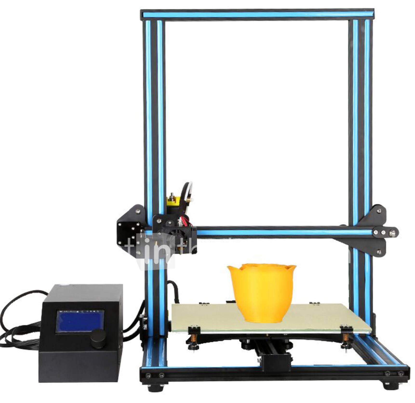Creality 10 3D Large Size Desktop DIY Printer LCD Screen Display with SD Card Off-line Printing Function - $357.96