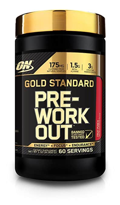 $29.44 - Optimum Nutrition 60 Servings Gold Standard Pre-Workout with Creatine, Beta-Alanine, and Caffeine for Energy, 1.32 Pound by Optimum Nutrition
