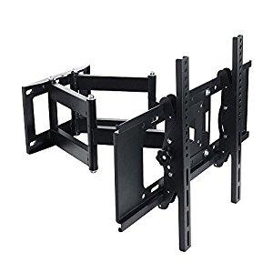 $23.99 - Lumsing Dual Articulating Arm Full Motion TV Wall Mount Bracket Tilt Swivel for 27-70 Inch TV LED LCD Plasma Flat Screen Monitor VESA 600X400mm: $23.99+ FS