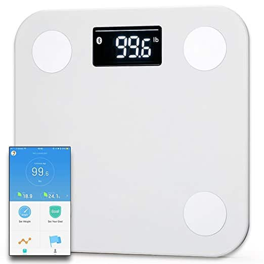 $29.95 - Yunmai Smart Scale - Body Fat Scale with new FREE APP & Body Composition Monitor with Extra Large Display