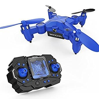 DROCON Scouter Foldable Mini RC Quadcopter Drone w/ Altitude Hold Mode, One Key Take off Landing, 3D Flips and Headless Mode - $22.99