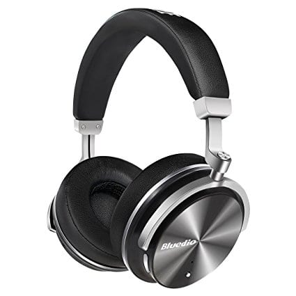 Bluedio T4 (Turbine) Active Noise Cancelling Over-ear Bluetooth Headphones with Mic - $32.65 $32.79