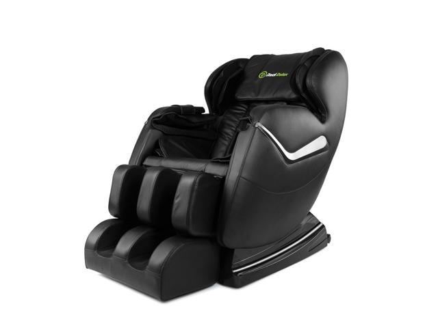 2017 RealRelax Full Body Shiatsu Massage Chair Recliner ZERO GRAVITY Foot Roller-Black - $624.99