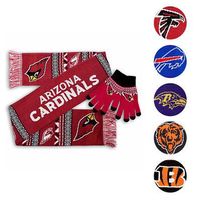 NFL Women's Aztec Scarf & Gloves Set - $17.99 + FS