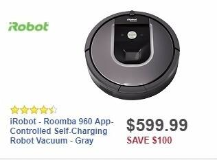 Best Buy Weekly Ad: iRobot - Roomba 960 App-Controlled Self
