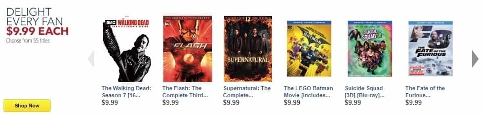 Best Buy Weekly Ad: Supernatural: The Complete Twelfth Season [DVD] for $9.99