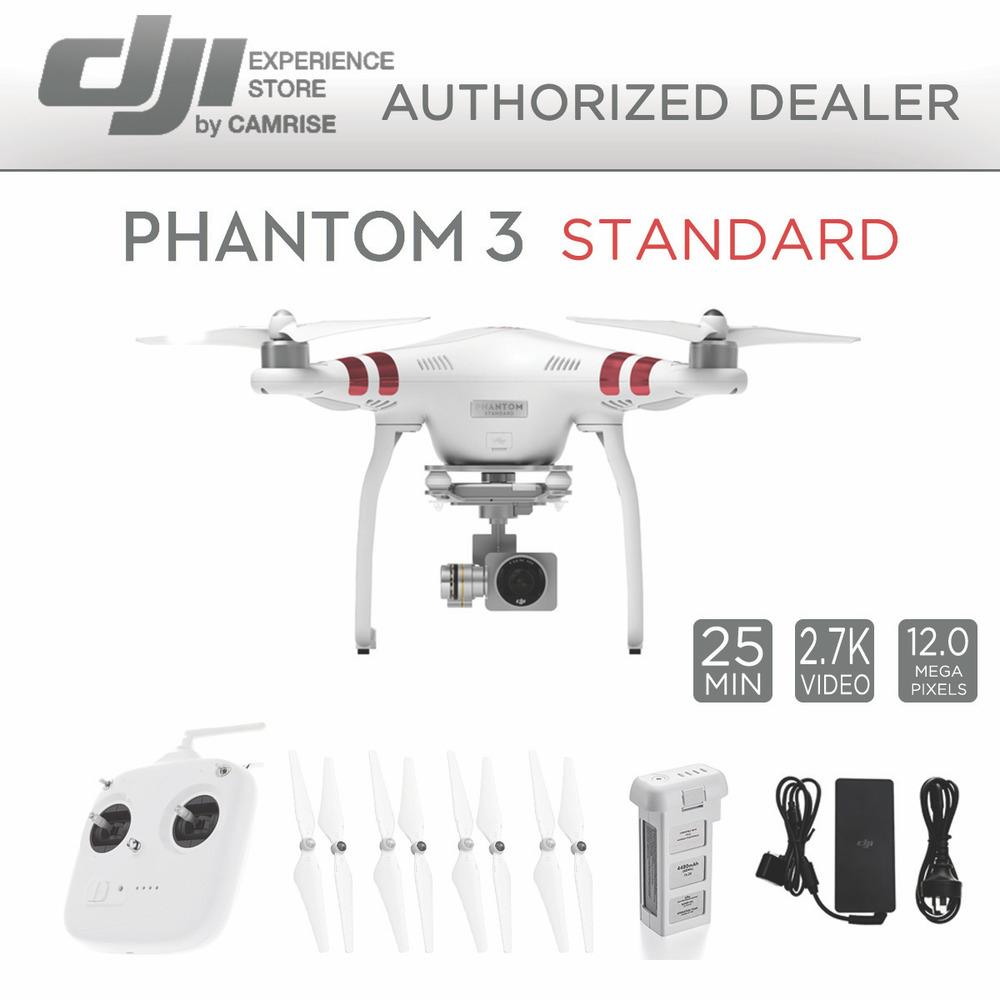 DJI Phantom 3 Standard (refurb) - $329
