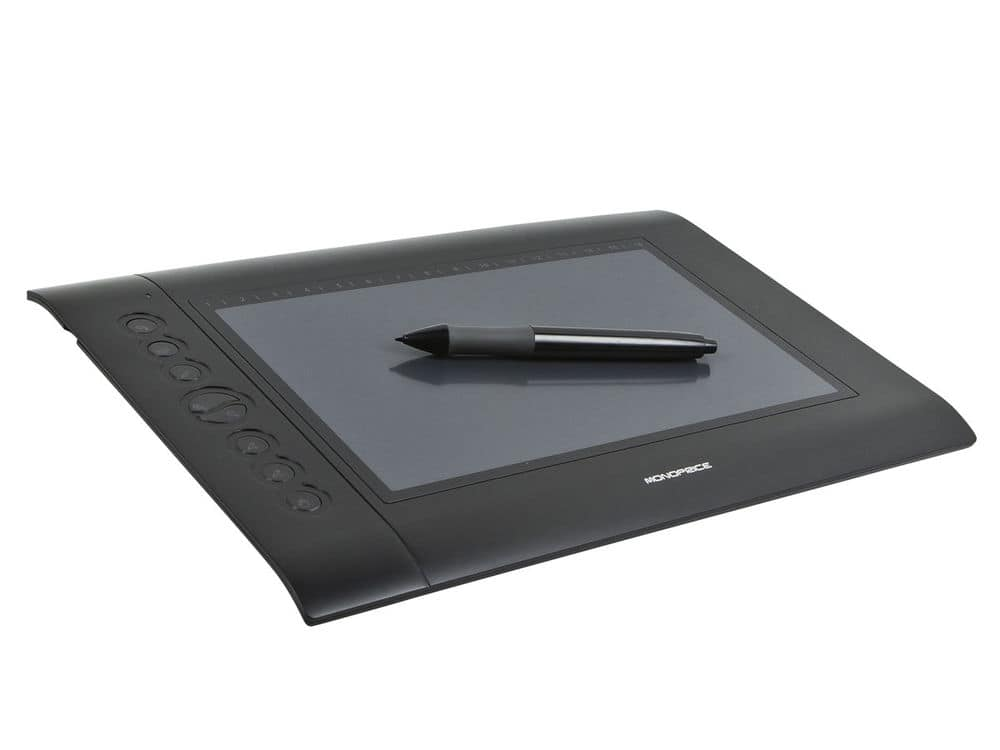 "Monoprice 10594 10 x 6.25"" Graphic Drawing Tablet 4000 LPI 200 RPS 2048 Levels - $34.99"