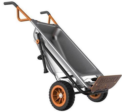 WORX AeroCart: 8-in-1 Multi-Function Wheel Barrow Yard Cart - $89.99