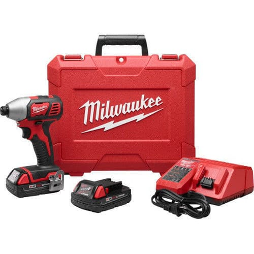 """Milwaukee M18 18V Li-Ion 1/4"""" Hex Impact Driver 2656-82CT Reconditioned - $89"""