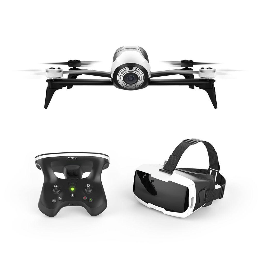 Parrot Bebop 2 FPV VR Drone Kit - Bebop 2 + Cockpitglasses + Skycontroller 2 - $299.99